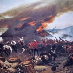 The defence of Rorke's Drift, Alphonse-Marie-Adolphe de Neuville, 1880