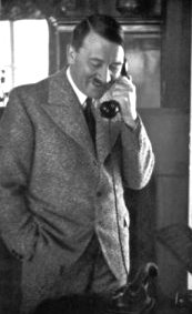 hitler on the phone